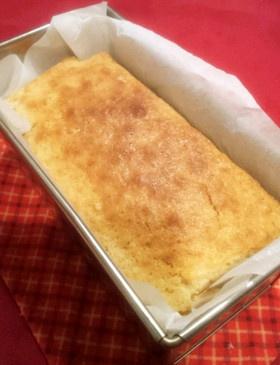 卵・バターなし♪簡単パウンドケーキ