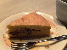さつまいもと栗の秋ケーキ