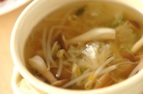 白キクラゲのプリプリスープ