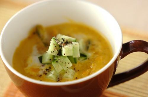 パンプキンヨーグルトスープ