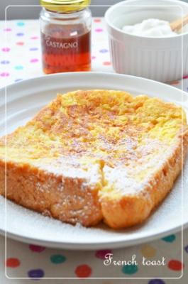 ◆フライパンで浸透!簡単フレンチトースト