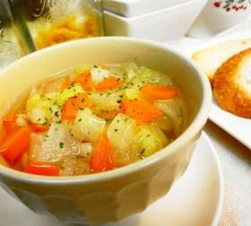 *ダイエット*高血圧に*野菜スープ*