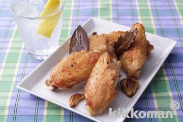 鶏手羽のガーリック焼き