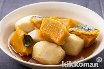 里芋とかぼちゃの甘辛煮
