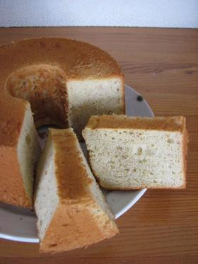 シフォン ケーキ レシピ 18cm