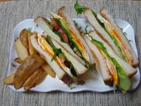 ブランチにも♪簡単サンドイッチ