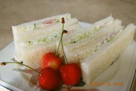 簡単♪コールスローのサンドイッチ
