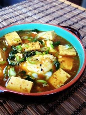 あったまる♡豆腐のカレースープ