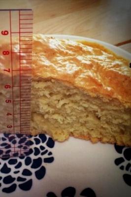 漫画のように分厚いホットケーキ!
