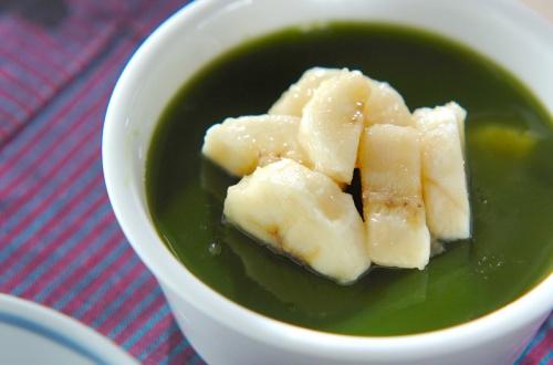 抹茶バナナカンテン
