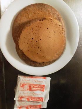 コストコのパンケーキミックス(チョコ)