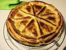 既成の調味料を使わないで作るミートパイ