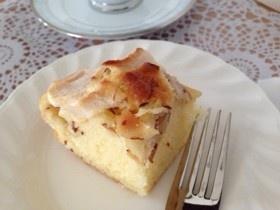 母直伝☆りんご&スライスアーモンドケーキ