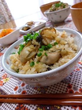 ❁牡蠣と生姜の炊き込みご飯❁