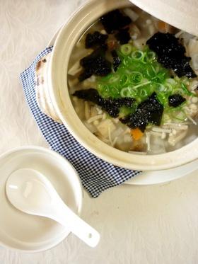 市販のお粥でダイエット雑炊☻低カロリー