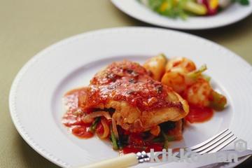 鶏肉とかぶのトマト煮