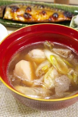 4人分でも♪里芋で『日本一の芋煮会』