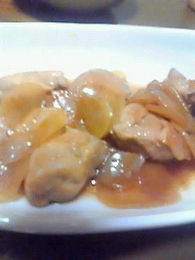 鶏肉とポテトのヨシダソース炒め