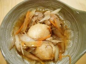 玄米だまこもち鍋