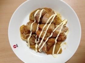 ヨシダソースで鶏の照り焼き