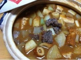 ご飯がすすむ♪*土鍋で味噌煮込みおでん