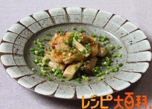 白身魚とエリンギのバターしょうゆ炒め