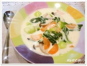 手軽に簡単★安うまチンゲン菜のクリーム煮