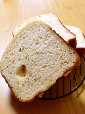 GOPANで☆ゴマとチーズの米食パン〜