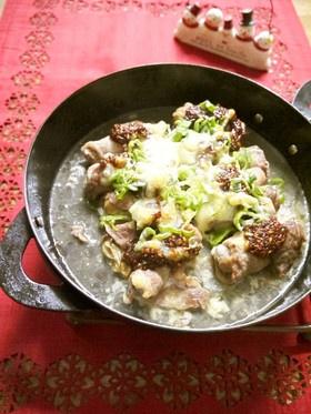 牡蠣の肉巻き◇くるみねぎ味噌チーズ焼き◇