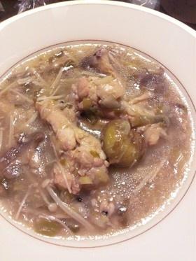 栗と雑穀入り参鶏湯