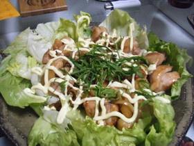 鶏肉withヨシダソースの炒め物☆
