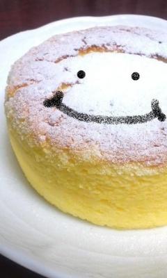 クリスマス☆材料3つスフレチーズケーキ