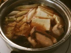 鮭の生姜味噌鍋