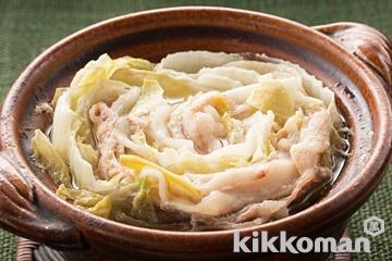 白菜豚バラ鍋