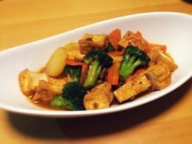 厚揚げと野菜の麻婆煮
