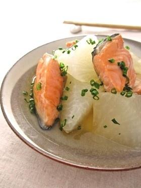 塩鮭と大根のことこと煮…