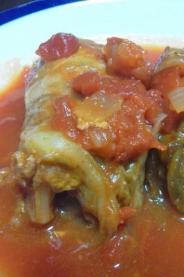 私流☆ロールキャベツのトマト煮(^^)