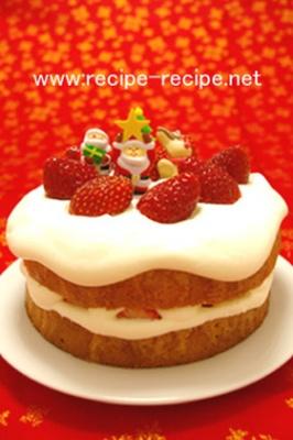 簡単おいしい!クリスマス☆ショートケーキ