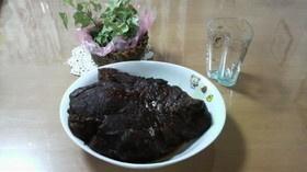 コストコ食材でデカ肉ビール煮(どーん)