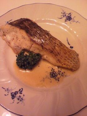 おうちで簡単フレンチ~真鯛のポワレ~