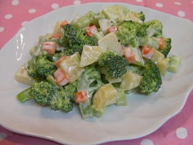 チーズマヨネーズで♪温野菜サラダ