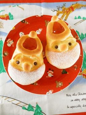 クリスマス☆サンタクロースのパン