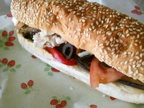 簡単☆ターキーサンドイッチ