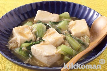 豆腐のオイスターソース炒め