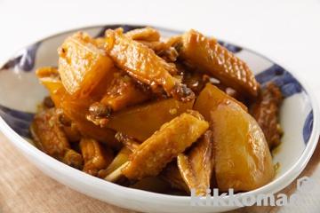 鶏と大根の韓国風煮物