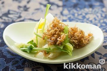 レンジで白菜温サラダ