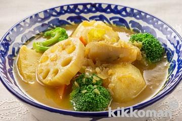 根菜スープカレー