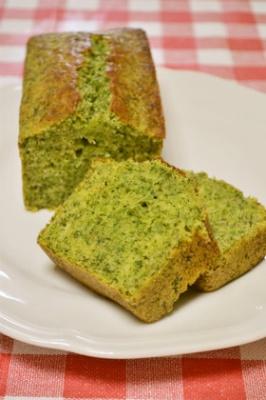 野菜でおやつ♥ほうれん草のパウンドケーキ