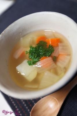 忙しい朝に!簡単和風スープ