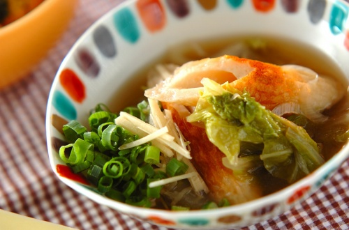 白菜とちくわの煮物